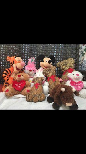 Kids Toys Bunnies and Teddy bears, play , fun for Sale in Richmond, VA
