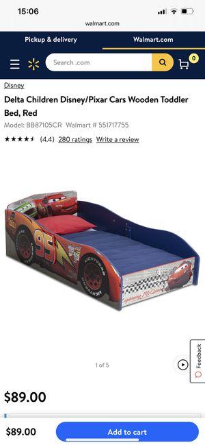 Delta Pixar Cars Toddler Bed for Sale in Lancaster, PA