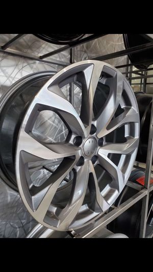 18x8 5x112 et35 Audi style wheels will be a4 a3 golf GTI Jett gli cc passat rims tires wheels for Sale in Tempe, AZ
