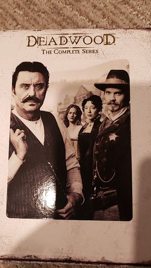 Deadwood the complete series blu ray for Sale in Everett, WA
