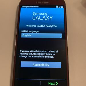 Red Samsung Galaxy S4 16gb AT&T for Sale in Virginia Beach, VA