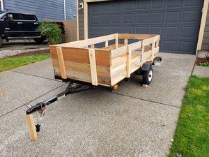 Utility trailer 4 x 8 for Sale in Bonney Lake, WA
