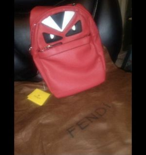 Red Mens Fendi Bag for Sale in Atlanta, GA