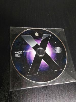 Rare Mac OSX Leopard install disc for Sale in Tempe, AZ