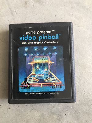 Atari 2600 Video Pinball Cartridge Game Only CX2648 for Sale in Murrieta, CA