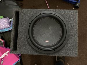 12 inch Memphis mojo subwoofer with box for Sale in Murfreesboro, TN
