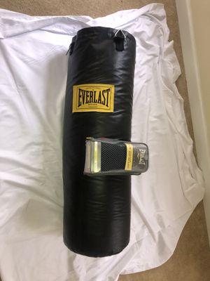 Everlast 100 lb. Heavy Bag Kit for Sale in Fort Washington, MD
