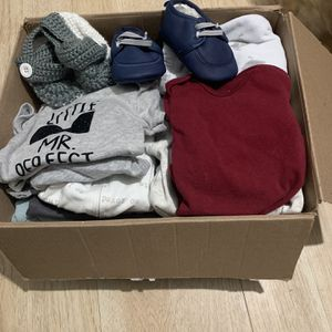 Box Of Baby Clothing for Sale in Paterson, NJ