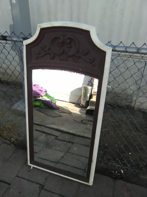 Mirror hangs on wall asking for25$ for Sale in CRYSTAL CITY, CA