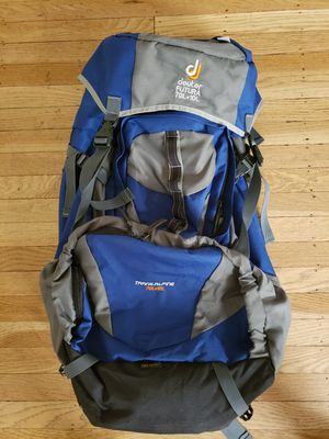 Brand New Traveler/Hiking Backpack 70L/10L for Sale in Seattle, WA