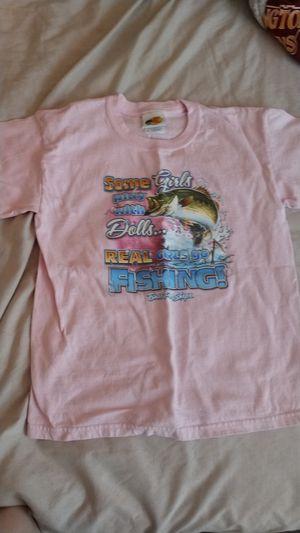 Bass Pro Shops fishing shirt youth girls for Sale in Stafford, VA