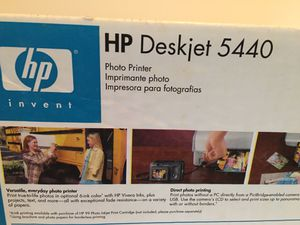 HP DeskJet 5440 Printer hp5440 photo Printer for Sale in Raleigh, NC