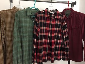 Women's Woolrich Flannel Shirts - Like New for Sale in Herndon, VA