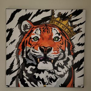 Tiger King 24x24in Canvas for Sale in Diamond Bar, CA