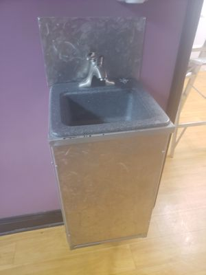 Patio/garage sink stainless steel panelling for Sale in Mount Vernon, OH