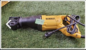 DEWALT 10-Amp Corded Variable Speed Reciprocating Saw for Sale in Pleasant View, TN