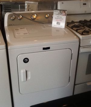 New open box maytag gas dryer MEDX655DW for Sale in Whittier, CA