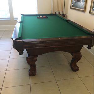 Pool Table With Accessories for Sale in Lake Worth, FL