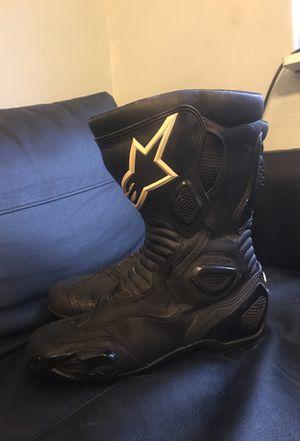 Alpine stars Stella svx 5 motorcycle boots. Women's 11. for Sale in Philadelphia, PA