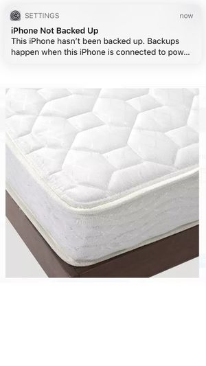 """Spring Mattress Full Size Bed Comfort 6"""" Bunk Bedroom Home Coil Plush for Sale in VA, US"""