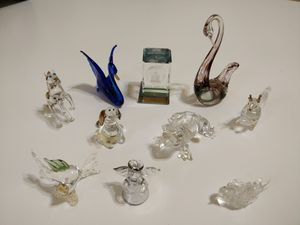 Glass animal collection for Sale in Gilbert, AZ