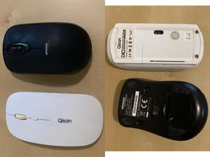 2 wireless Bluetooth mouse for Sale in Fairfax, VA