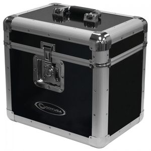 Odyssey KLP1BLK KROM Series Black Record Utility Case for 70 12″ Vinyl Records & LPs for Sale in Los Angeles, CA