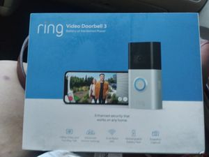 Ring video doorbell 3 for Sale in Fresno, CA