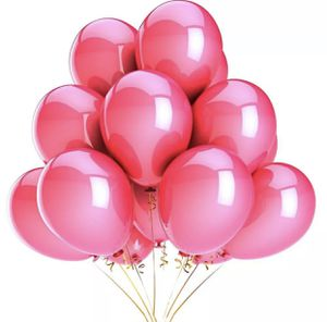 One dozen Metallic Pink Balloons with helium for Sale in Baldwin Park, CA