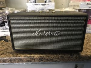 Marshall Bluetooth speaker for Sale in Seattle, WA
