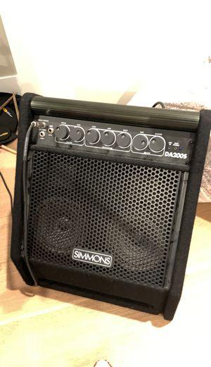 Simmons DA200S 200 watt amplifier for Sale in San Diego, CA