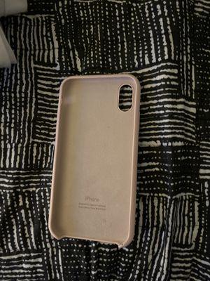 iPhone XR apple silicone case for Sale in Santa Clarita, CA