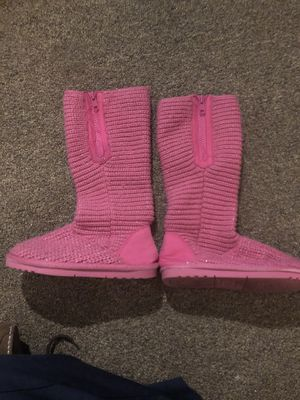 Girls winter high boots 12 for Sale in Alexandria, VA