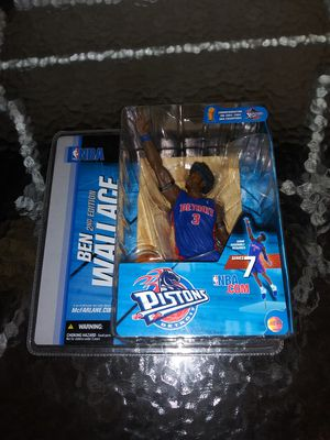 Detroit Pistons Ben Wallace NBA action figures for Sale in Cleveland, OH