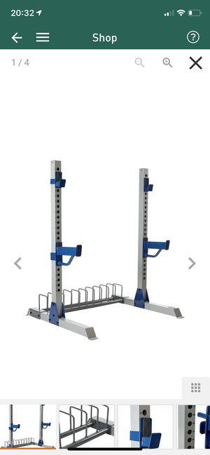Fitness Gear half rack for Sale in Woodbridge, VA