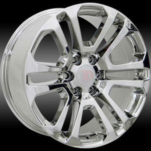 "Brand New 22"" Rep29 6x139.7 Chrome Wheels for Sale in Hialeah, FL"
