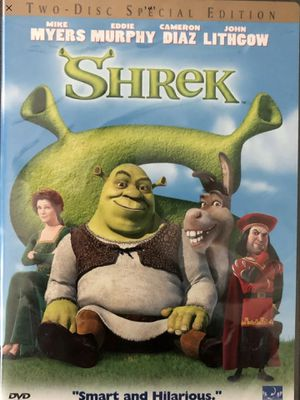 Shrek - 2 Disc Set - Classic Kids Movie - Dreamworks - DVD - Original Release - Exclusive Toys for Sale in Hawthorne, CA