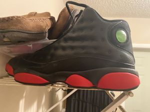 NIKE AIR JORDAN 13 XIII RETRO Dirty Bred Black Gym Red Nike sized 11 1/2 for Sale in Seffner, FL