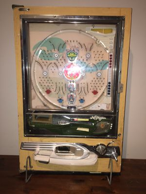 Vintage rare Pachinko machine , lights work but needs a little restoration. for Sale in Falls Church, VA