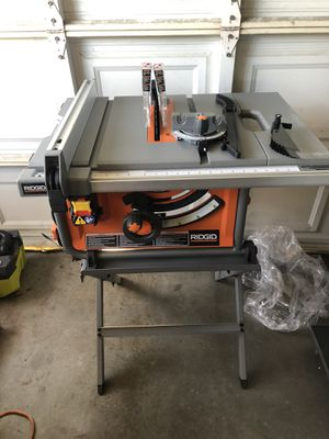 Ridgid 10in Table Saw for Sale in Garden Grove, CA