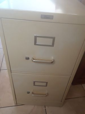 File cabinet. No key for the lock for Sale in Tampa, FL