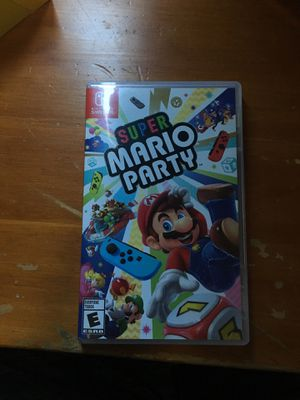 Super Mario party switch for Sale in Las Vegas, NV