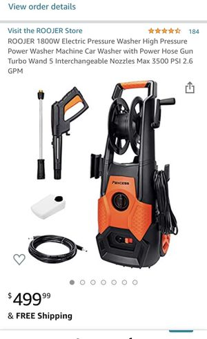 Power Washer for Sale in Fresno, CA