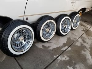 13 .7 rims 5 lug Brand new tires for Sale in Clovis, CA