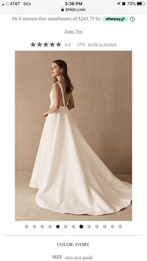 BHLDN wedding dress for Sale in Pittsburgh, PA