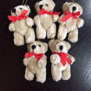 Mini Teddy Bears ( 3-1:2 High) for Sale in Fort Lauderdale, FL