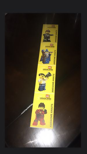 4 LEGOLAND 1 Day Hopper Tickets for Sale in San Bernardino, CA