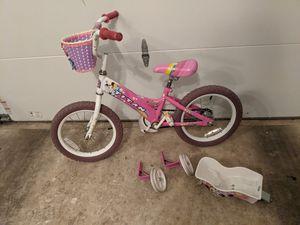 """Pink kid's bike 16"""" wheel for Sale in Fairfax, VA"""