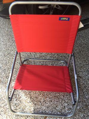 2 low sitting beach chairs for Sale in Boynton Beach, FL