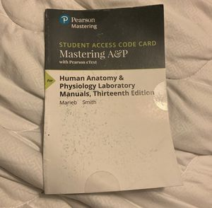 Mastering A&P Access code for Sale in Kingsley, PA